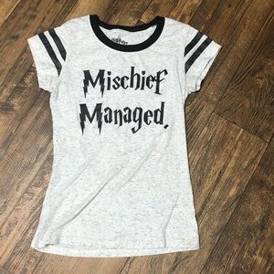 Harry Potter Mischief Managed T-shirt S